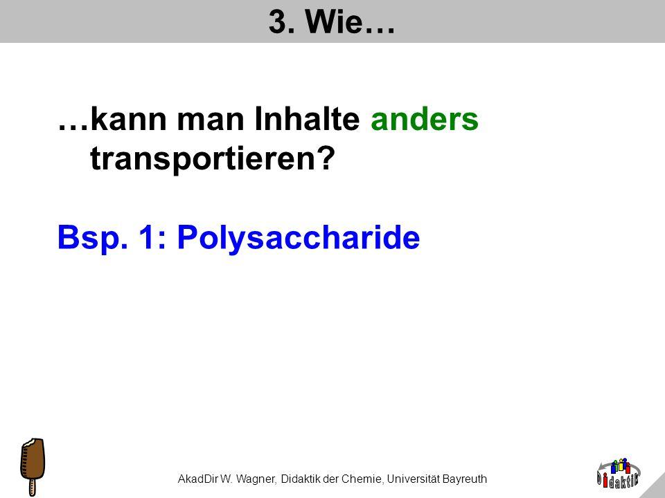 AkadDir W. Wagner, Didaktik der Chemie, Universität Bayreuth Was haben wir gelernt? Etwas über die Rolle von Farbstoffen in Lebensmitteln Dass es zwei