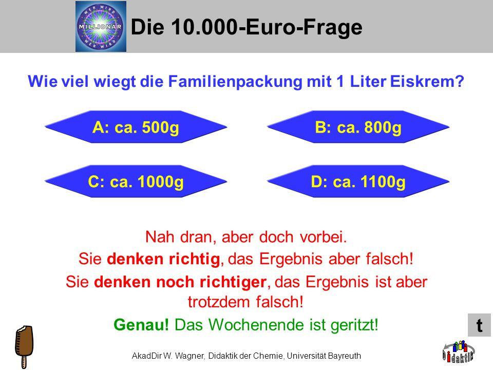 AkadDir W. Wagner, Didaktik der Chemie, Universität Bayreuth Stabilisatoren in Eiskrem Johannisbrotkernmehl (Ceratonia)E410 Guarkernmehl (Cyamopsis)E4