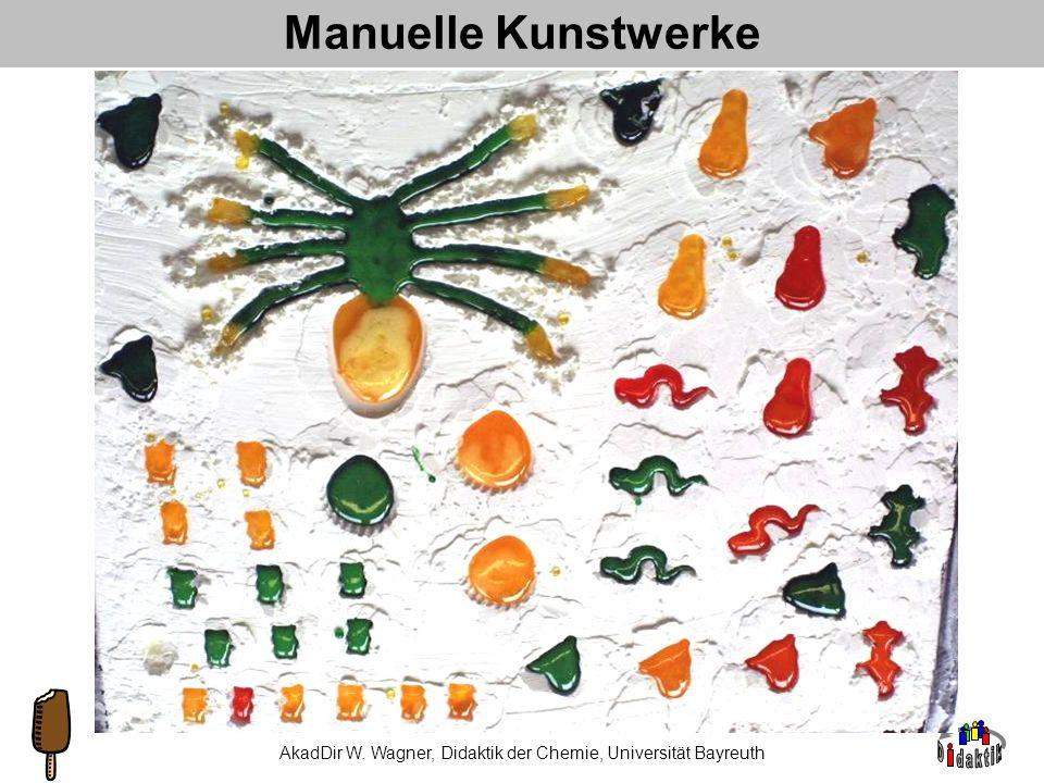 AkadDir W. Wagner, Didaktik der Chemie, Universität Bayreuth 3. Wie… …kann man Inhalte anders transportieren? Bsp. 2a: Mono- und Disaccharide