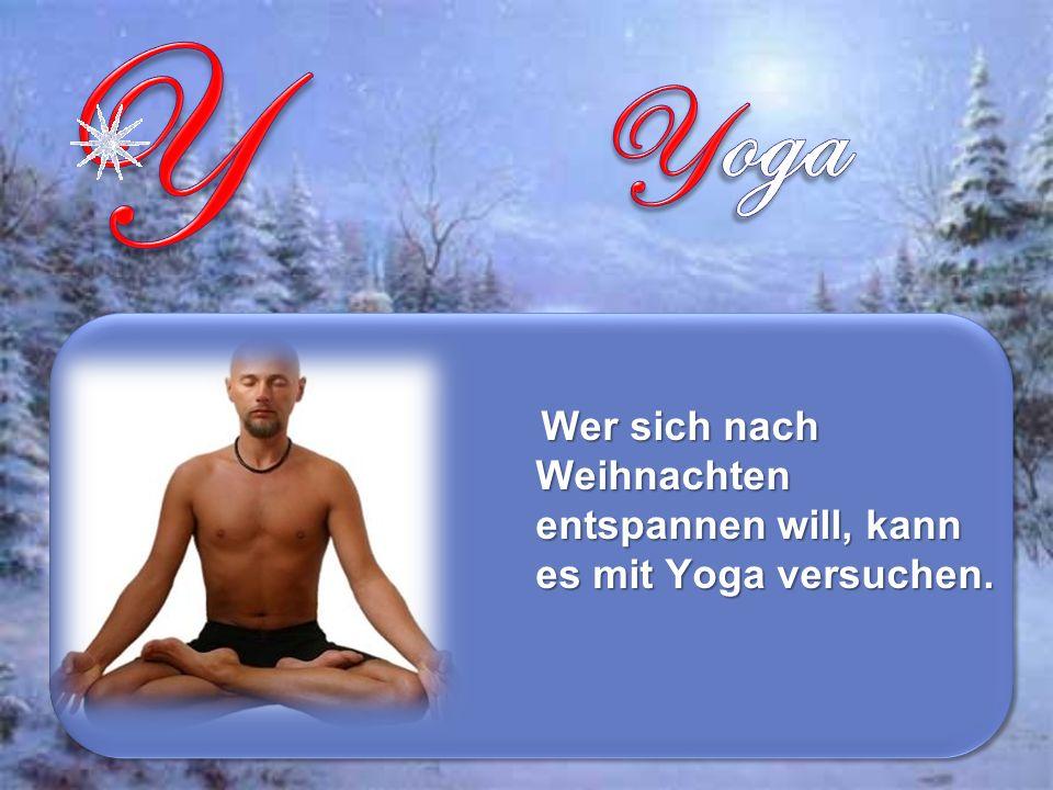 Wer sich nach Weihnachten entspannen will, kann es mit Yoga versuchen.