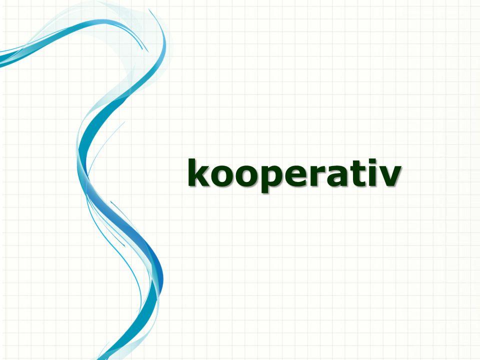 kooperativ