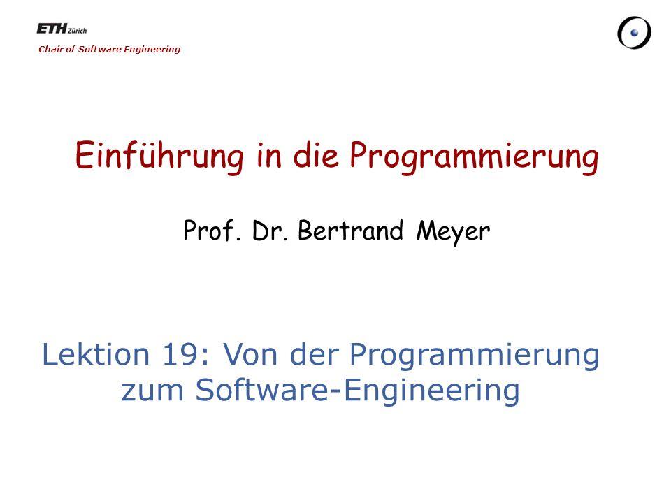 71 Formale Methoden Mathematik als Basis für die Softwareentwicklung Ein Software-System wird als mathematische Theorie betrachtet und stufenweise verbessert, bis es direkt implementierbar ist.