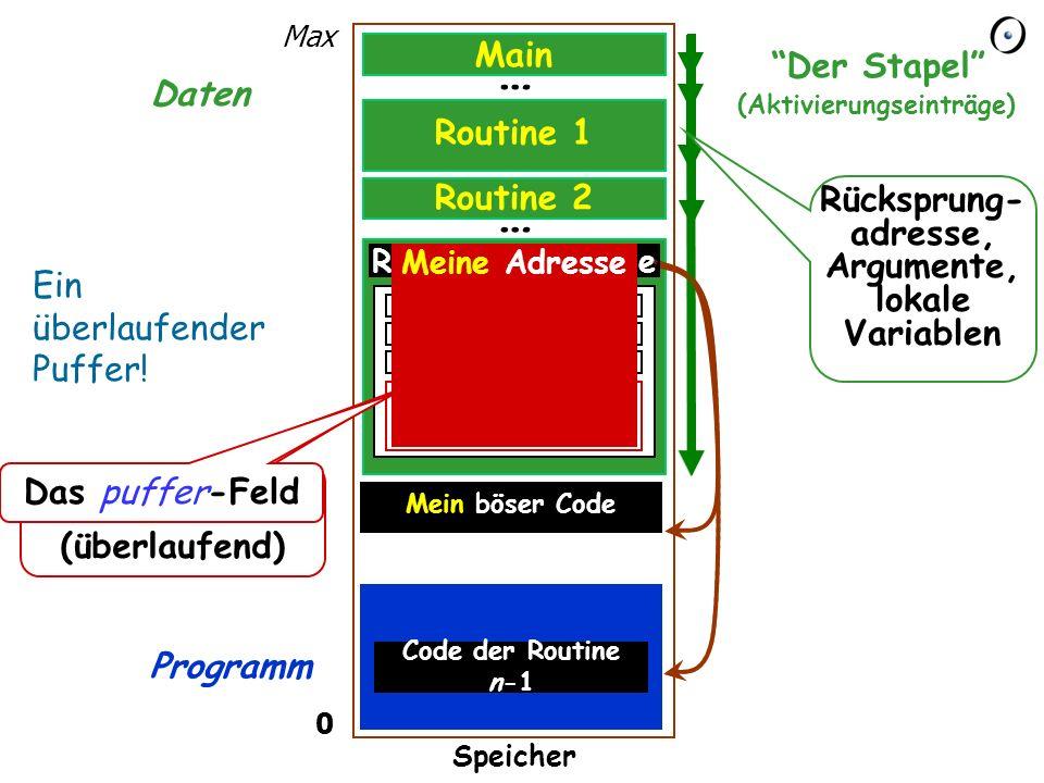 15 Die Eingabe erhalten from i := 1 until i > eingabe_länge loop puffer [i ] := eingabe [i ] i := i + 1 end