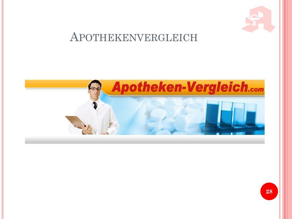 A POTHEKENVERGLEICH 28