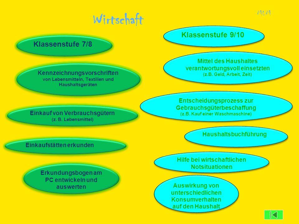 Wirtschaft MUM Entscheidungsprozess zur Gebrauchsgüterbeschaffung (z.B. Kauf einer Waschmaschine) Entscheidungsprozess zur Gebrauchsgüterbeschaffung (