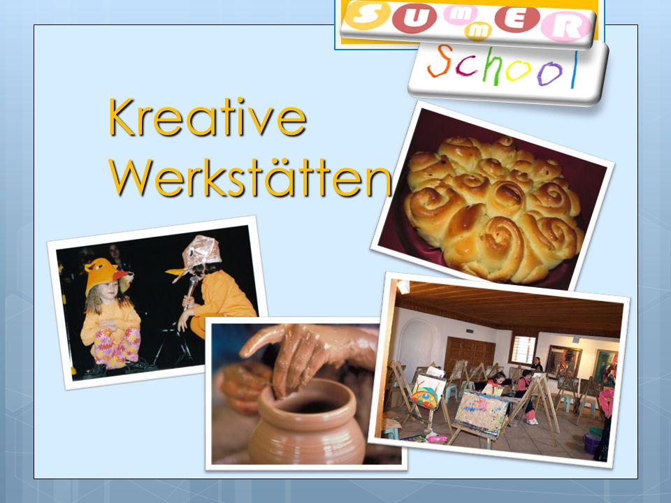 Kreative Werkstätten