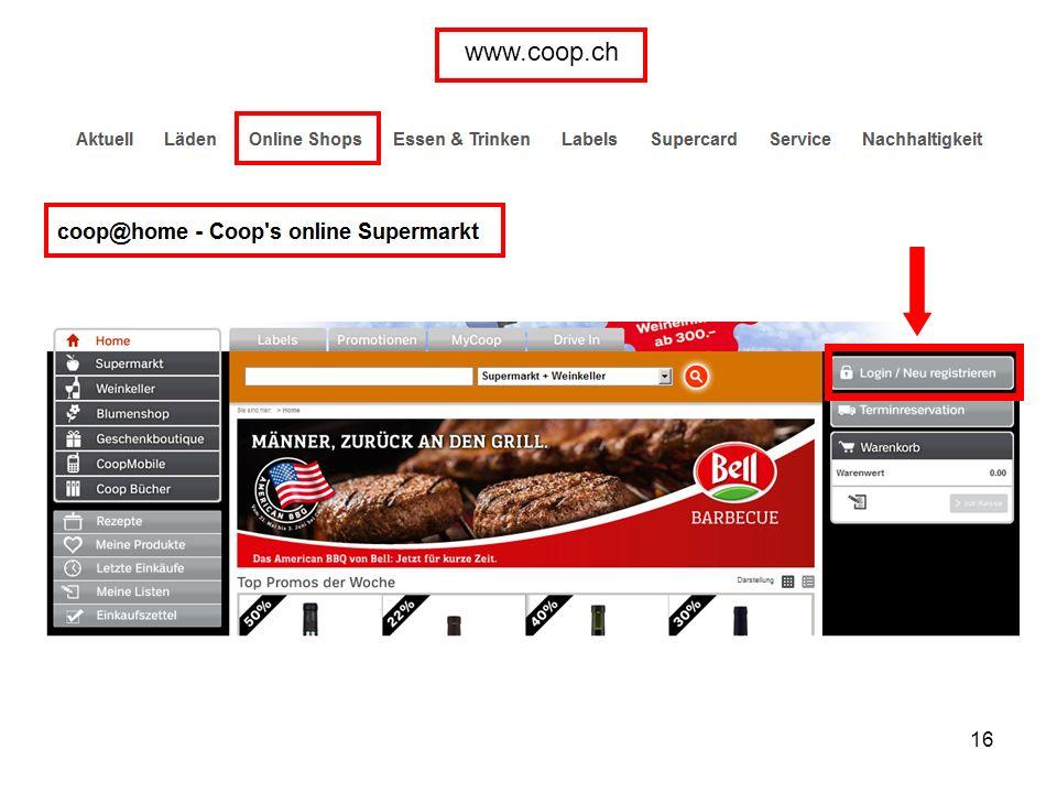 16 www.coop.ch