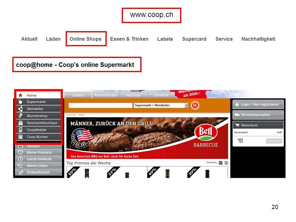 20 www.coop.ch