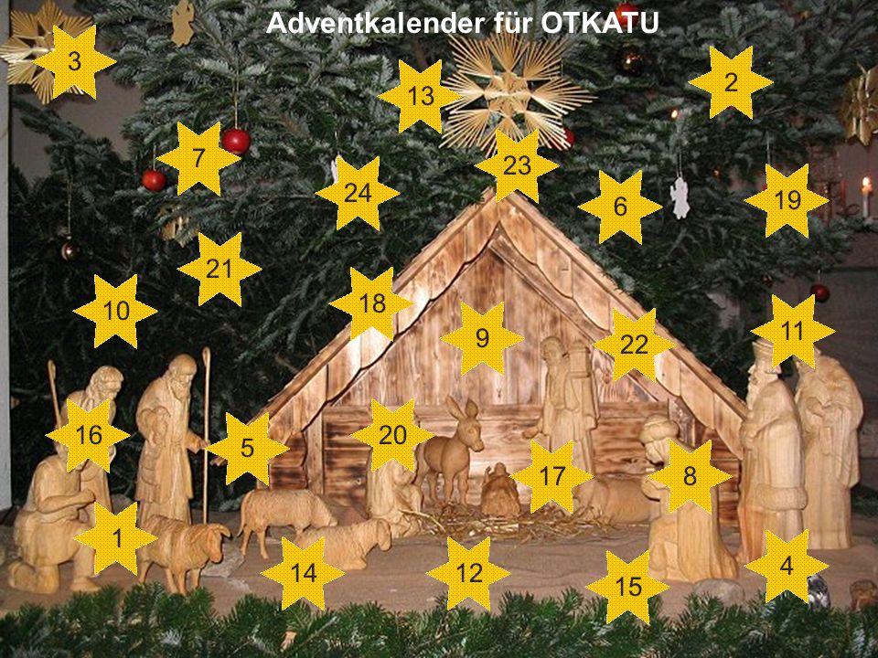 Adventkalender für OTKATU 1