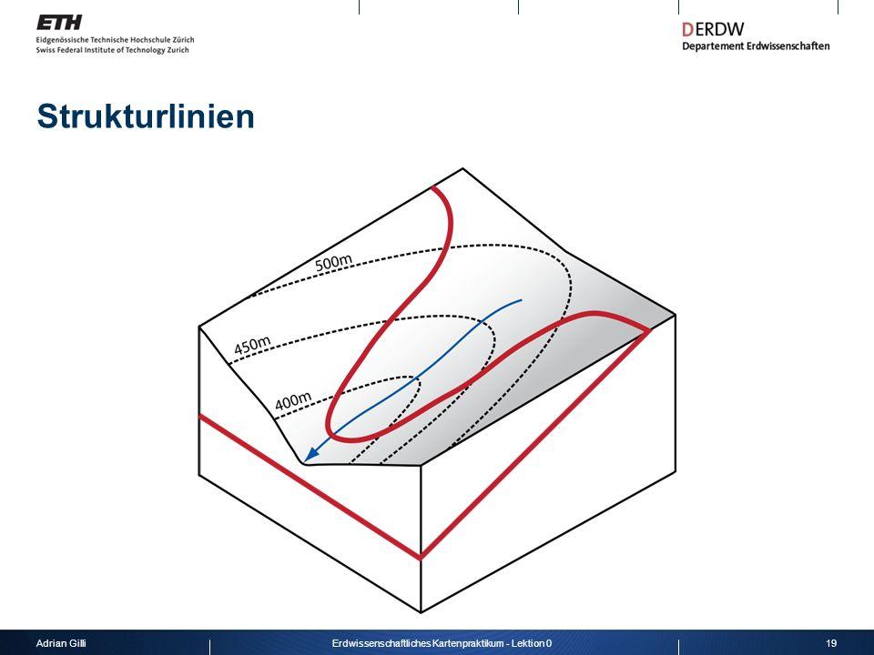 Adrian Gilli19Erdwissenschaftliches Kartenpraktikum - Lektion 0 Strukturlinien