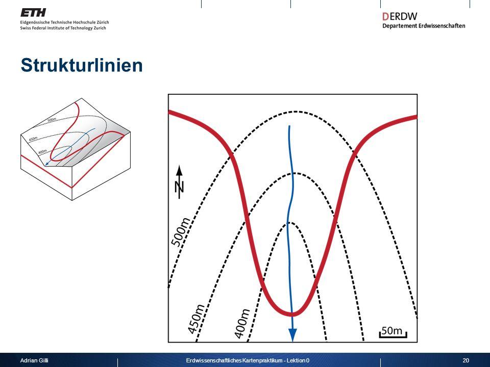Adrian Gilli20Erdwissenschaftliches Kartenpraktikum - Lektion 0 Strukturlinien