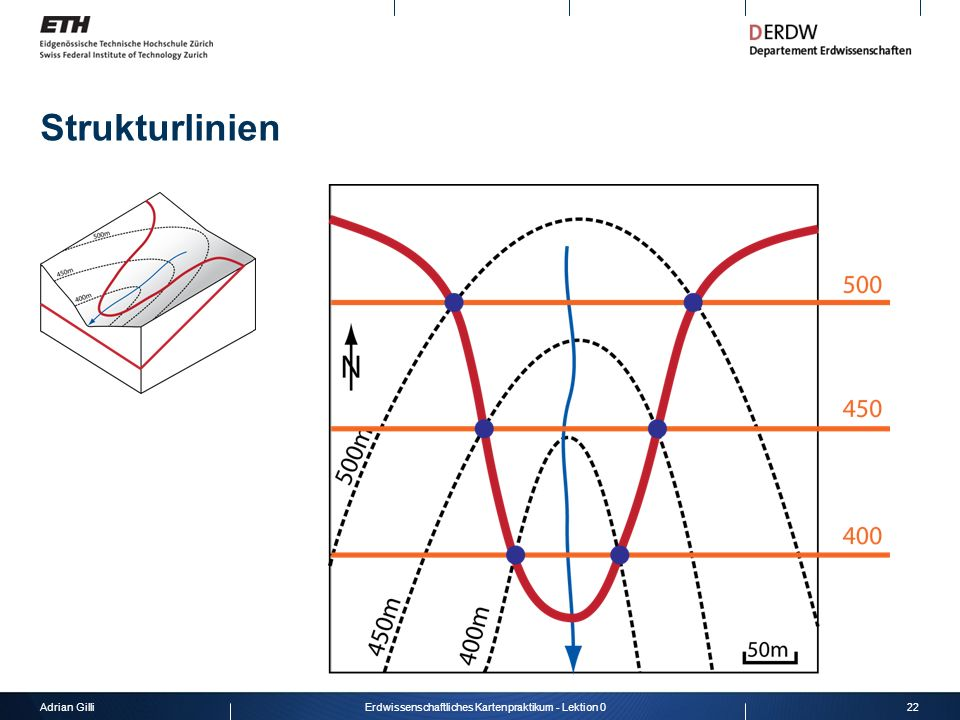 Adrian Gilli22Erdwissenschaftliches Kartenpraktikum - Lektion 0 Strukturlinien