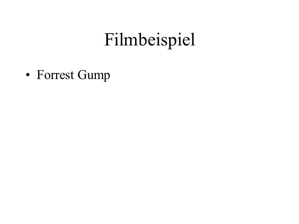 Filmbeispiel Forrest Gump