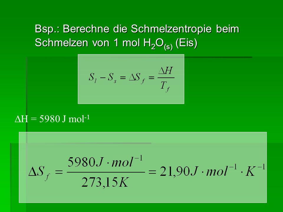 Statistische Mechanik Mechanische Eigenschaften Thermodynamische Eigenschaften Eigenschaften von Systemen von Molekülen / Atomen Ortskoordinaten: x i, y i, z i,Temperatur: T Impulskoordinaten: p xi, p yi, p zi,Druck: p Masse: m i Masse: m Kinetische Energie: (E kin ) i Entropie: S Potentielle Energie: U ij Innere Energie: U Freie Enthalpie: G Und äußere Variablen (wichtigste: das Volumen V)