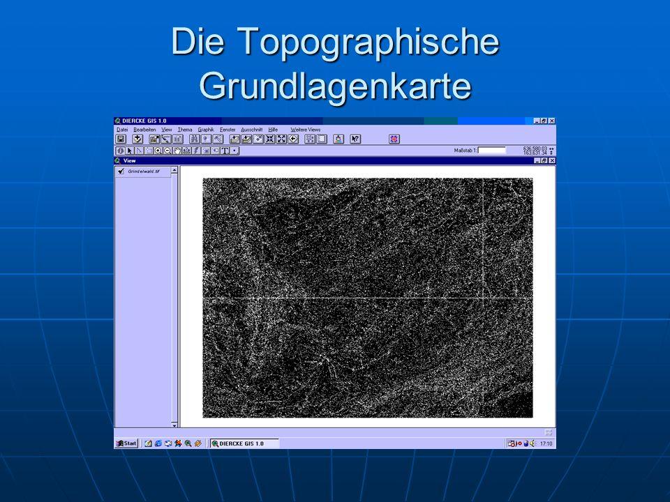 Die Topographische Grundlagenkarte