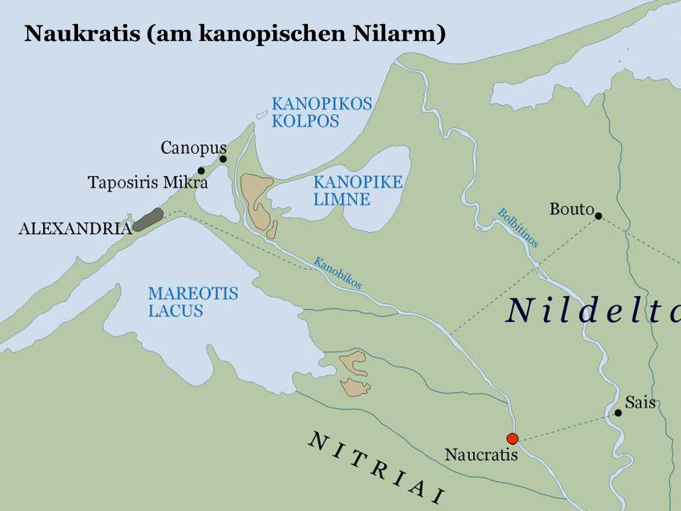 Naukratis (am kanopischen Nilarm)