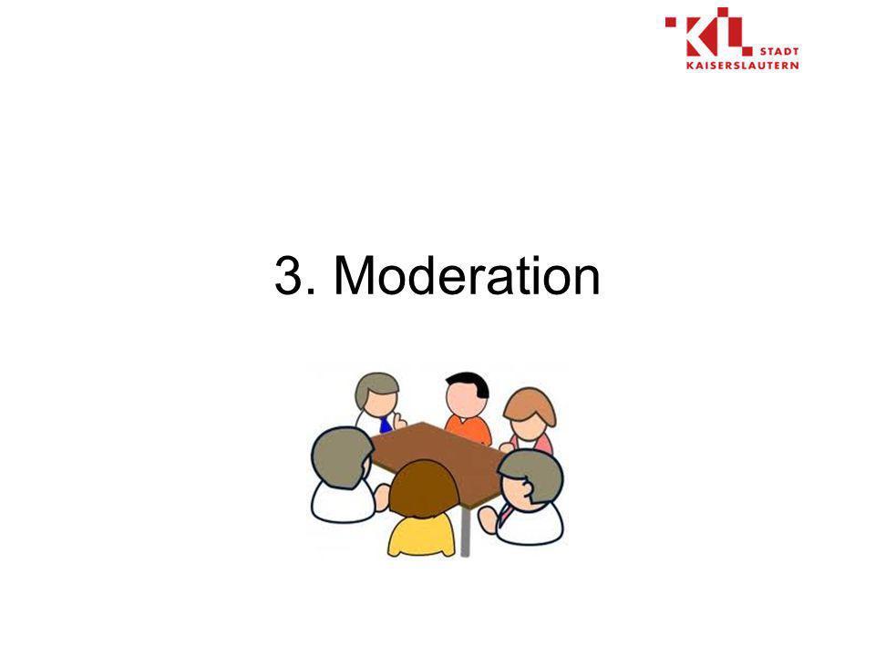 3. Moderation