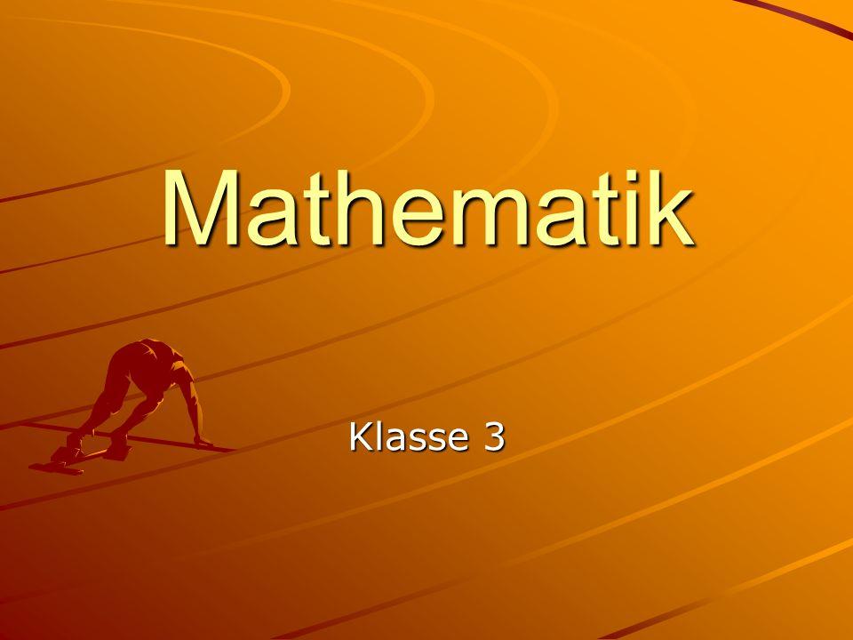 Mathematik Klasse 3
