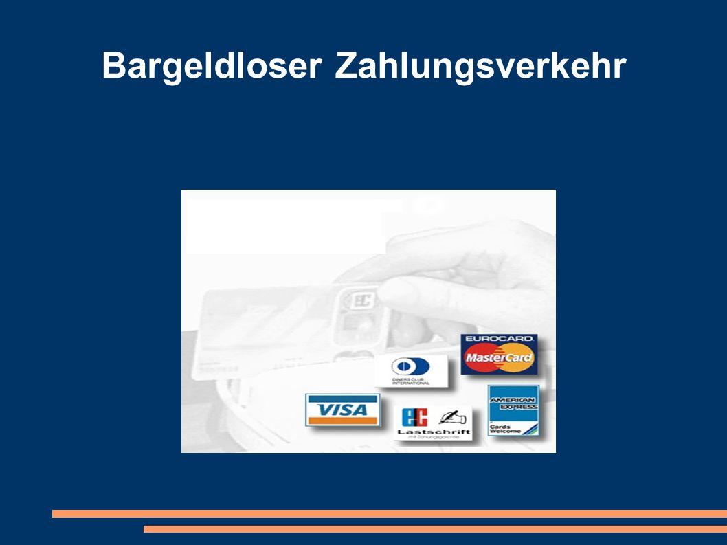 2.e GeldKarte Es findet keine Authentifizierung des Geldkarte-Inhabers gegenüber dem Händler bzw.