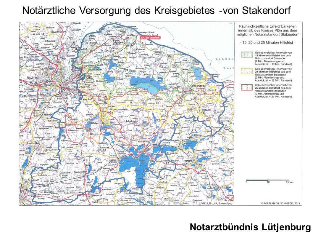 Notarztbündnis Lütjenburg Notärztliche Versorgung des Kreisgebietes -von Stakendorf