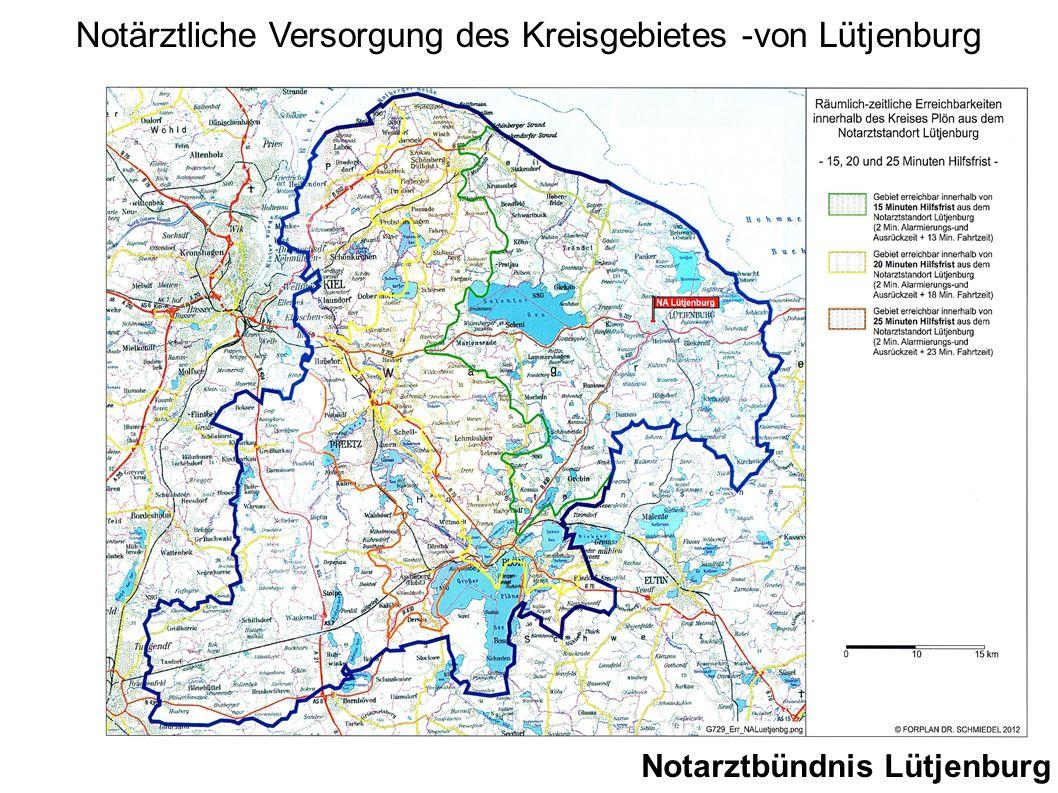 Notarztbündnis Lütjenburg Notärztliche Versorgung des Kreisgebietes -von Lütjenburg