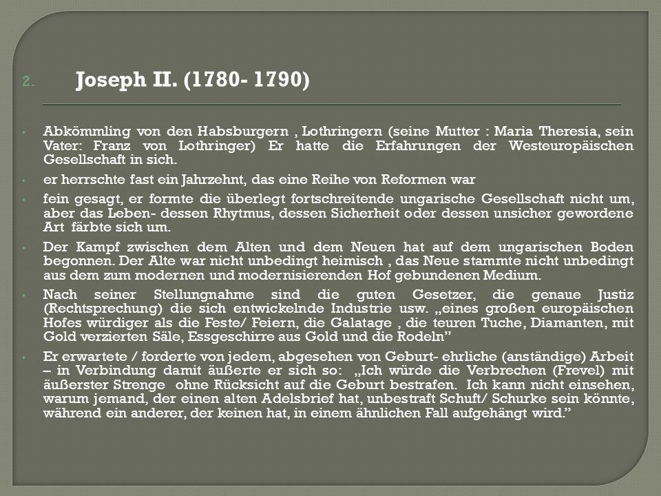2. Joseph II.