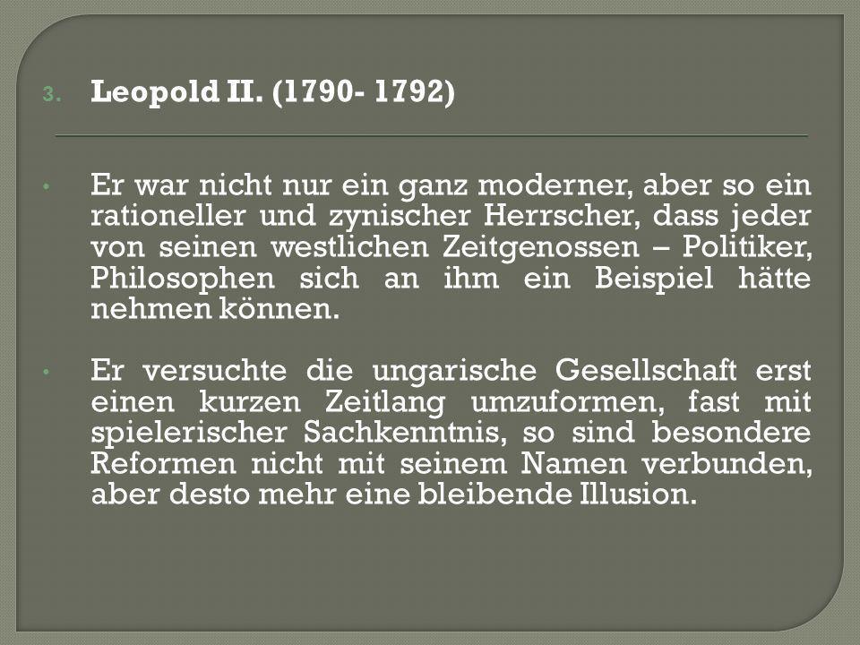 3. Leopold II.