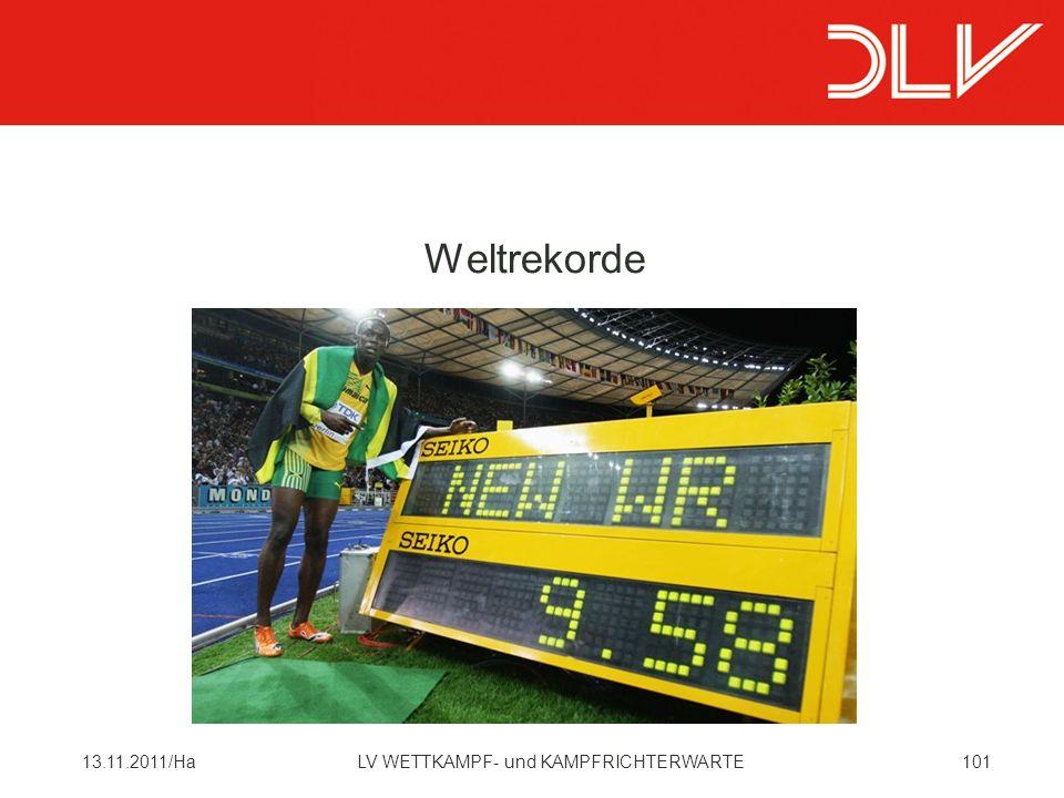 10113.11.2011/HaLV WETTKAMPF- und KAMPFRICHTERWARTE Weltrekorde