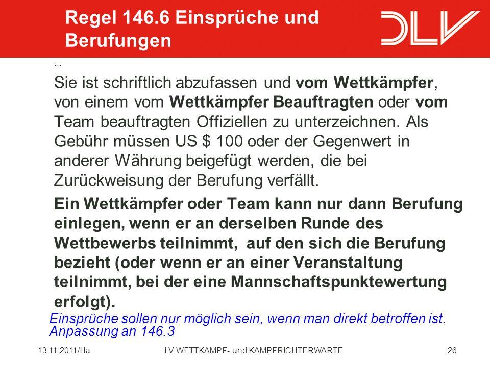 2613.11.2011/HaLV WETTKAMPF- und KAMPFRICHTERWARTE...