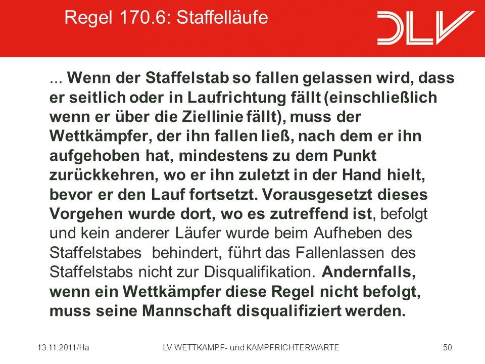 5013.11.2011/HaLV WETTKAMPF- und KAMPFRICHTERWARTE...