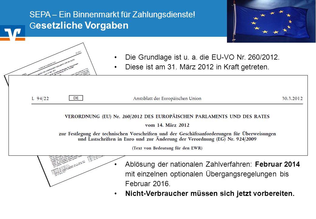 Diagramm Text / Bild BildText Diagramm Ende Diagramm Text / Bild Transaktionsfluss des SEPA-Basis-Lastschriftverfahrens Europäische Lastschrift (SEPA Core Direct Debit)