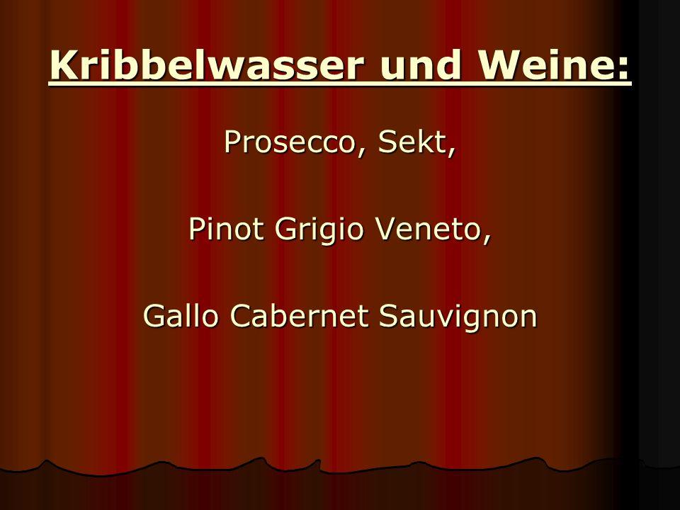 Fassbier und Flaschenbiere: Café sieben Pilsner, Beck´s, Beck´s Gold, Beck´s Green Lemon, Beck´s Level 7, Beck´s Chilled Orange, Krombacher alkoholfrei