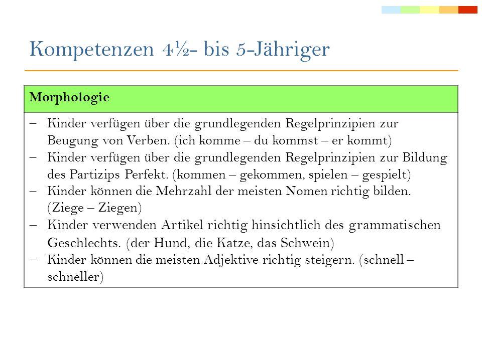 Pragmatik/Diskurs Lexikon/Semantik Syntax Morphologie Phonologie Lehre von der Kombination von Wörtern zu Sätzen Die Syntax befasst sich mit dem Satzbau und der Struktur der Sätze.
