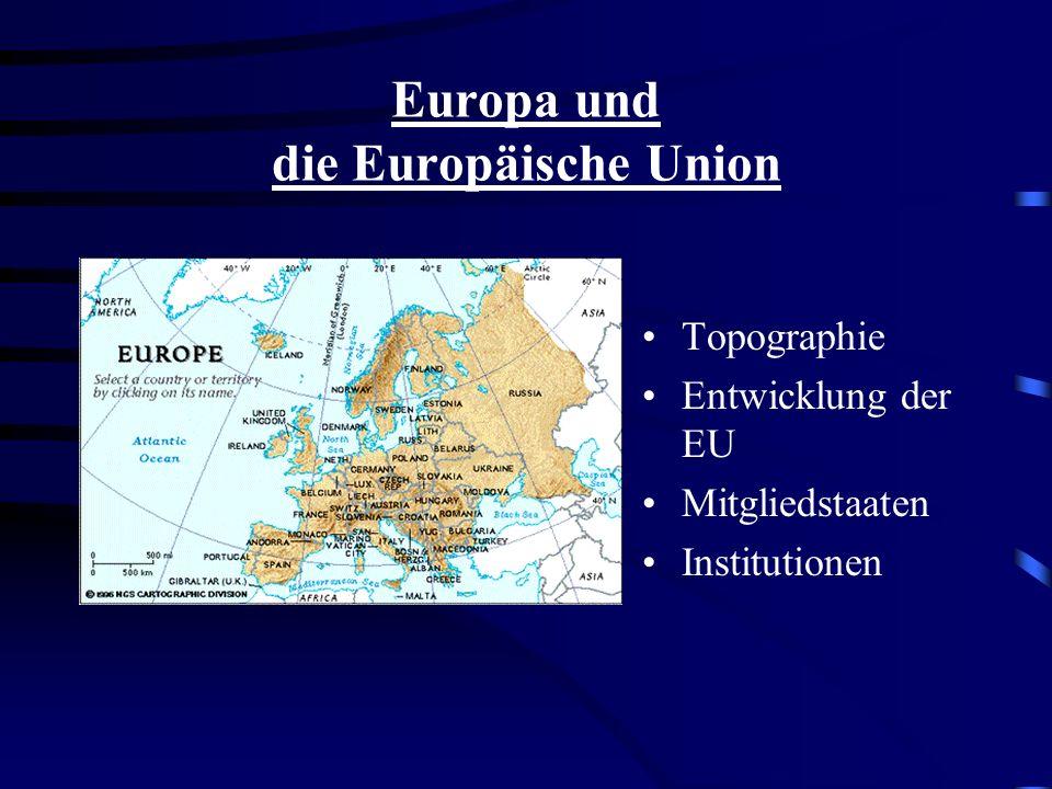 Themenangebot im Bilingualen Unterricht der 9. + 10. Klasse - Erdkunde - Deutschland Topographie Luftverschmutzung Saurer Regen Gewässerver- schmutzun
