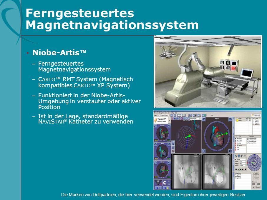 Ferngesteuertes Magnetnavigationssystem Niobe-Artis – Ferngesteuertes Magnetnavigationssystem – C ARTO RMT System (Magnetisch kompatibles C ARTO XP Sy