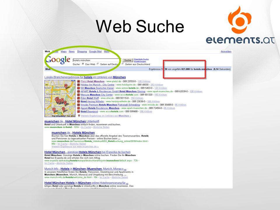 Web Suche