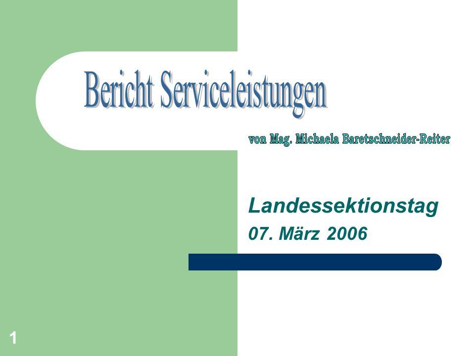 1 Landessektionstag 07. März 2006