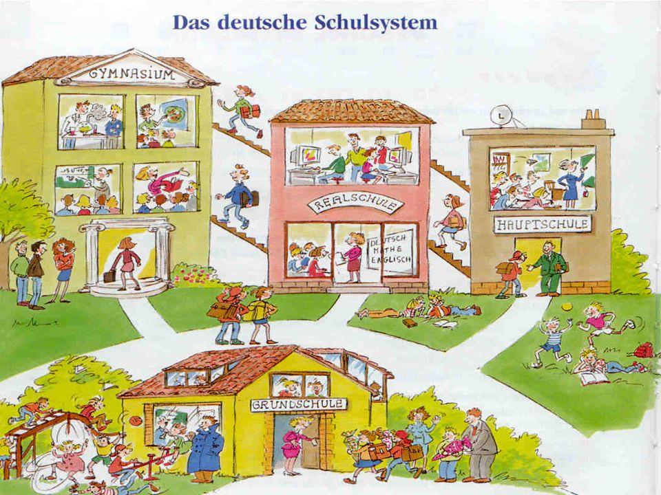 Fritz versteht das Schulsystem nicht. Und ihr? Seht euch das Schema an!