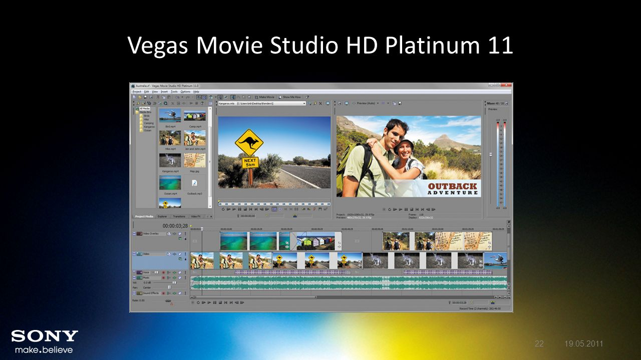 Vegas Movie Studio HD Platinum 11 2219.05.2011