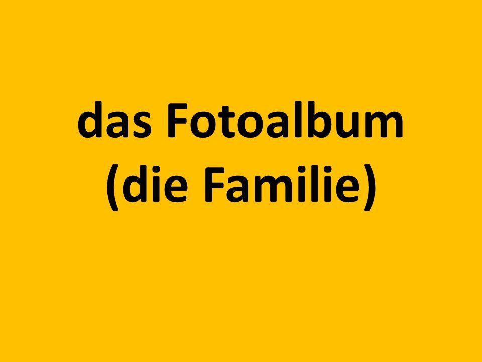 das Fotoalbum (die Familie)