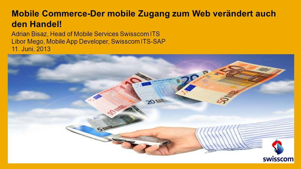 Mobile Commerce-Der mobile Zugang zum Web verändert auch den Handel.