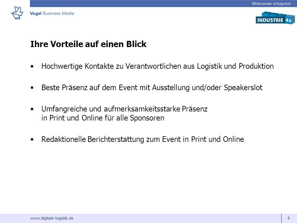www.digitale-logistik.de 7 Wir freuen uns auf eine gute Zusammenarbeit.