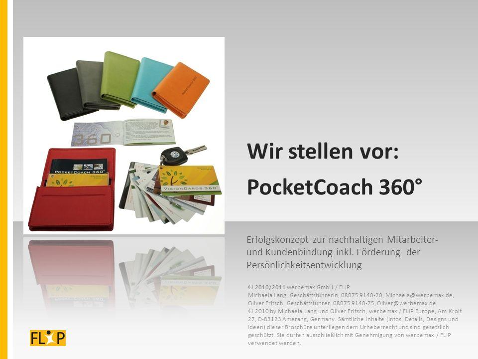 Wir stellen vor: PocketCoach 360° Erfolgskonzept zur nachhaltigen Mitarbeiter- und Kundenbindung inkl.