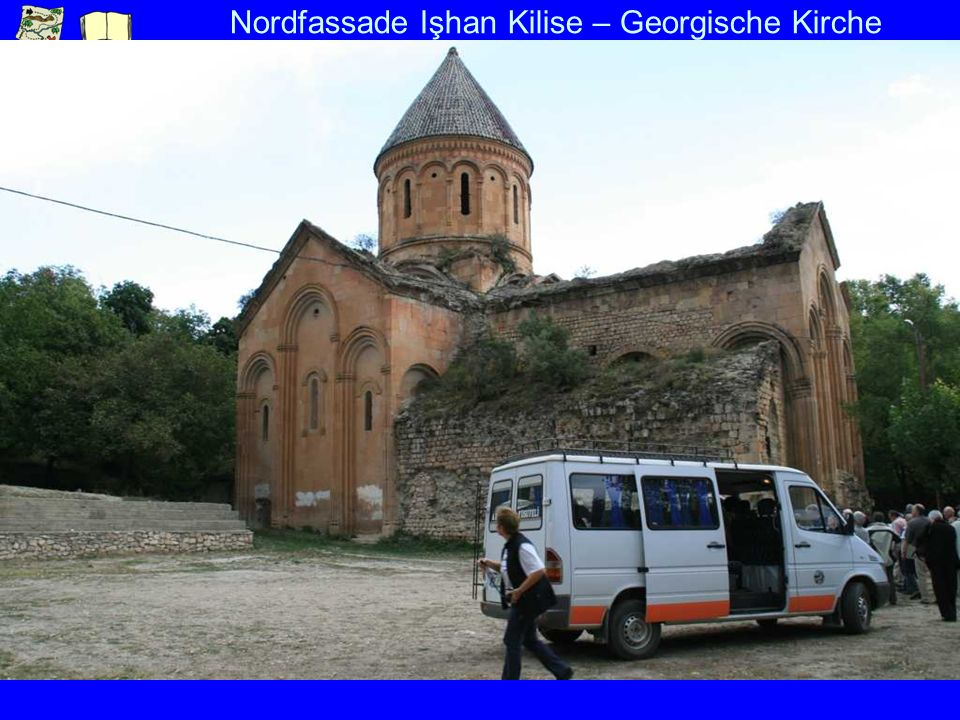 Nordfassade Işhan Kilise – Georgische Kirche