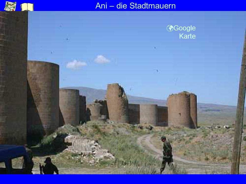 Ani – die Stadtmauern Google Karte