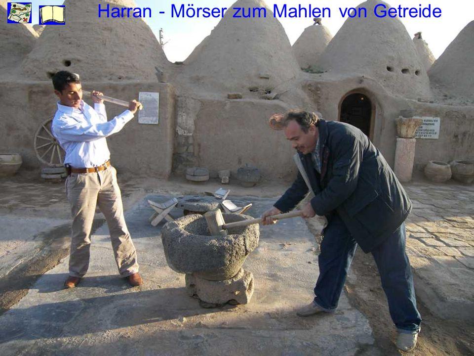 Harran - Mörser zum Mahlen von Getreide