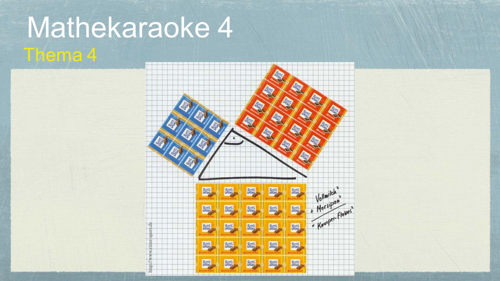 Mathekaraoke 4 Thema 4