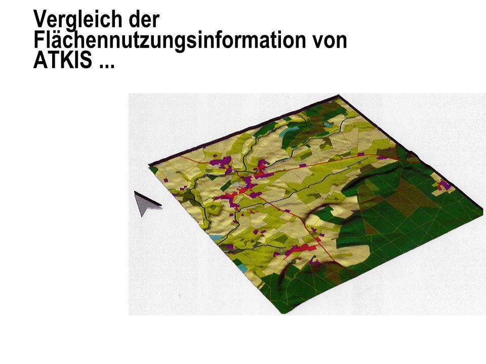 mit der Flächennutzungsinformation der CIR Luftbildauswertung
