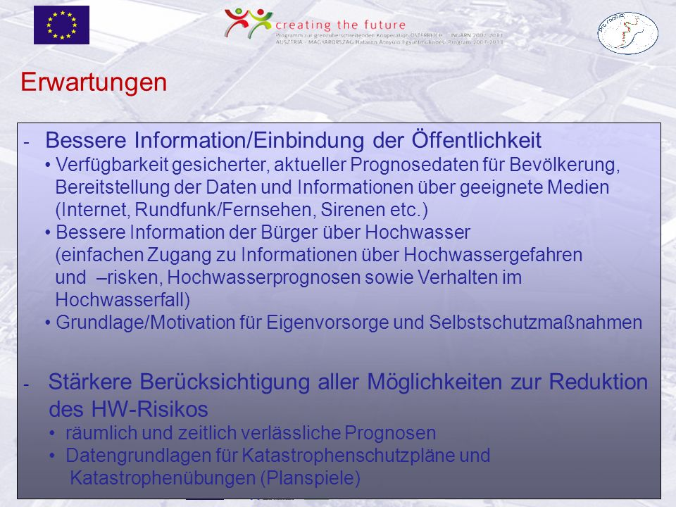 R. Hornich, Land Steiermark, FA 19B Güssing am 31.5./1.6.2011 - Bessere Information/Einbindung der Öffentlichkeit Verfügbarkeit gesicherter, aktueller