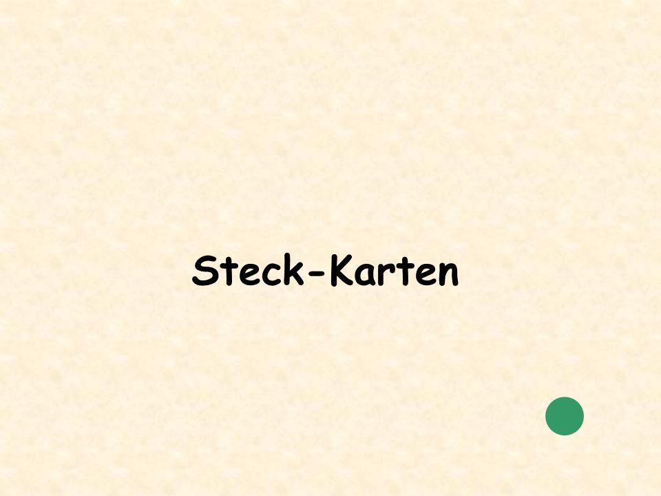 Steck-Karten